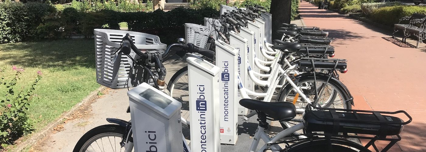bike hire in Montecatini Terme