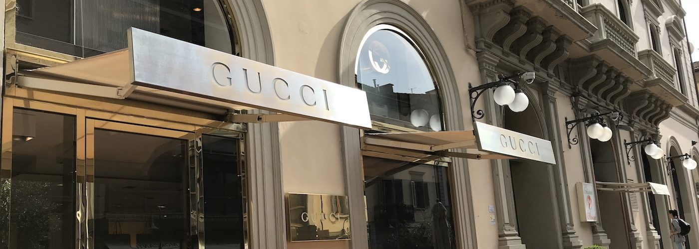 Shopping in Gucci Store Montecatini Terme