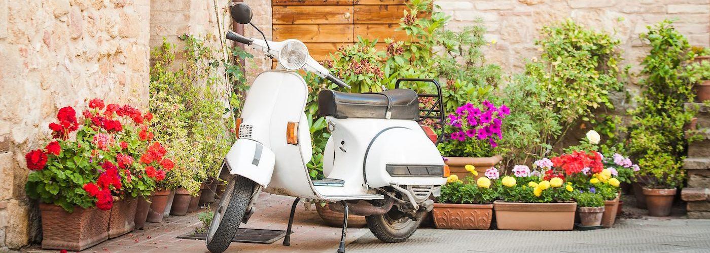 Vespa in Italy Montecatini Terme